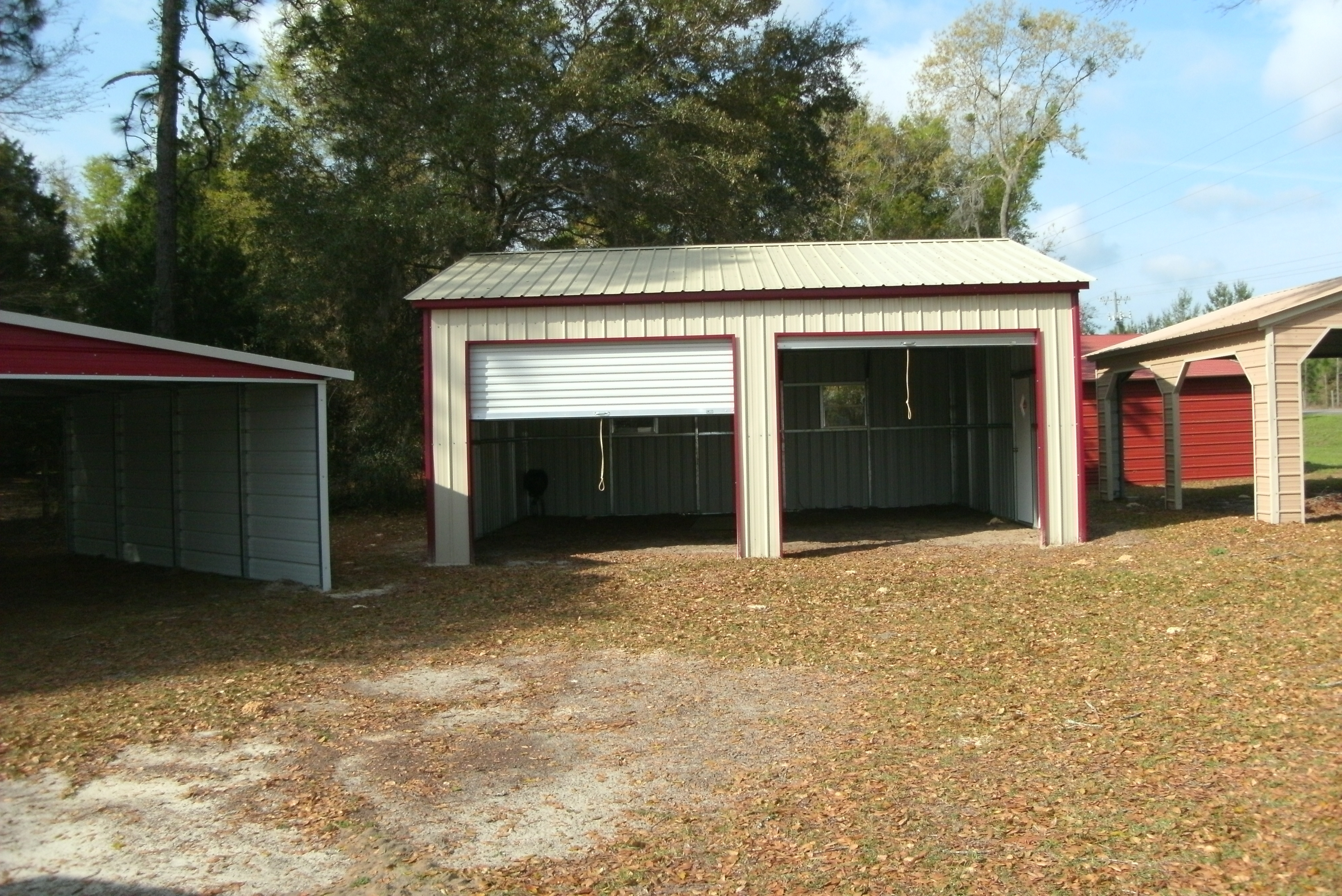 Carolina Carport Amp Garages Shed Ranch Archer Fl