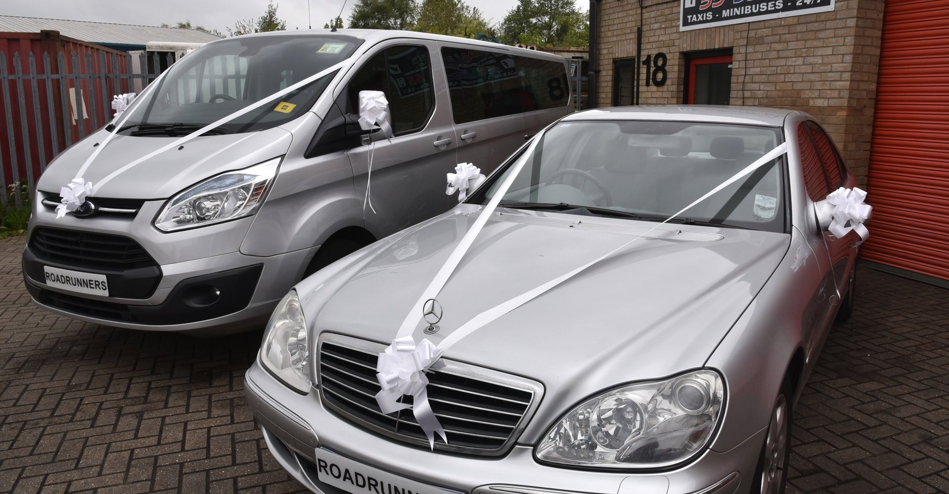 Wedding car hire in Lowestoft | RoadRunners Taxis
