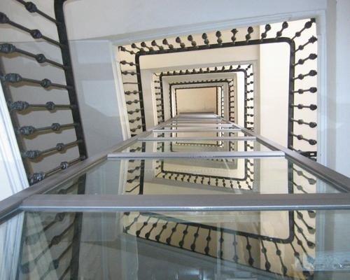 Vista esterna ascensore