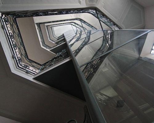 Sistema elevatore per dimora storica