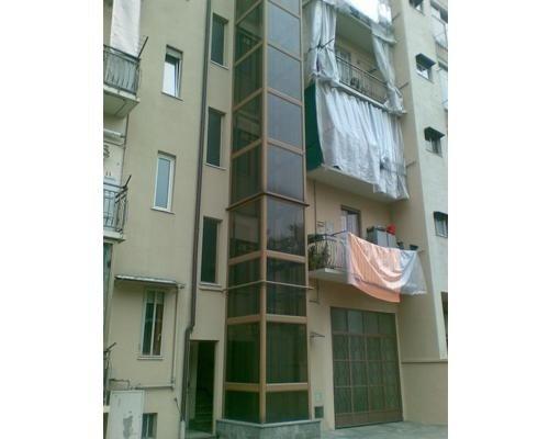 Ascensore esterno per condomini