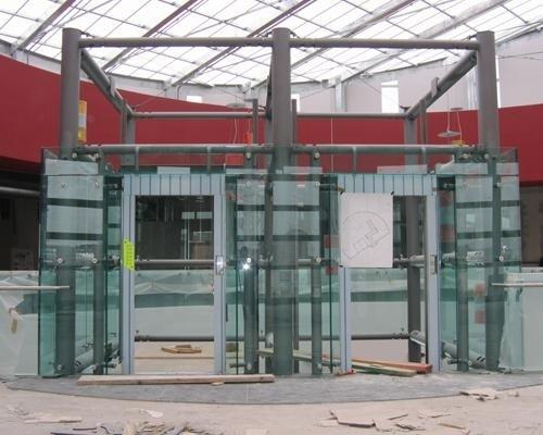 Struttura ascensore per centro commerciale