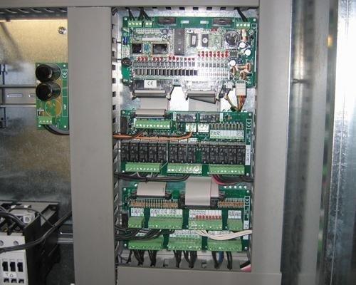 Sistema di controllo ascensore centro commerciale