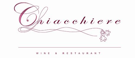CHIACCHIERE WINE & RESTAURANT - LOGO