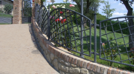 cancellate in ferro battuto, cancellate originali, recinzioni da disegno