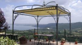strutture in ferro da disegno, arredamento per giardino n ferro battuto, complementi in ferro battuto