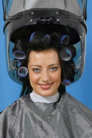 casco parrucchiere professionale