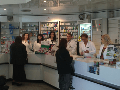 Staff farmacia Brunetti