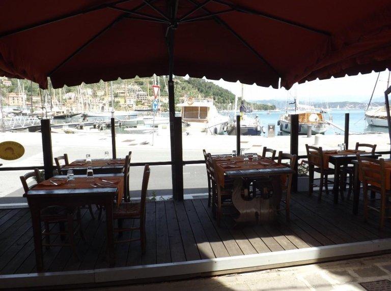 ristorante vista mare Le Grazie Portovenere