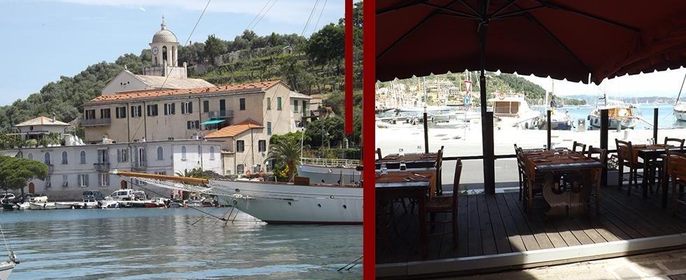 Ristorante vista mare Portovenere Le Grazie