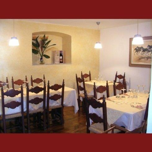 saletta ristorante Le Grazie