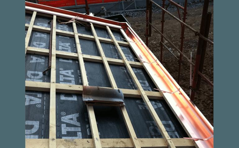 preparazione tetto