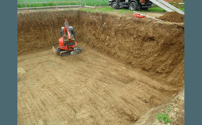 scavi cantiere