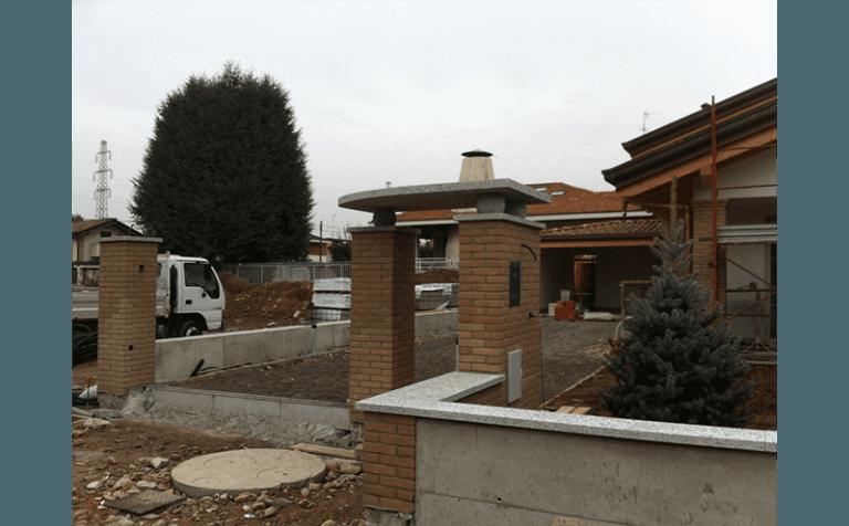 costruzione ingresso