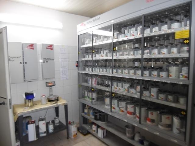 Sala tintometro Du Pont