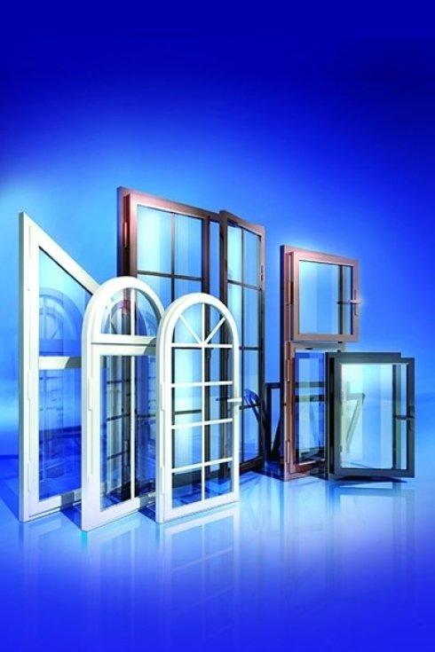 Esempi di finestre realizzate dalla ditta.