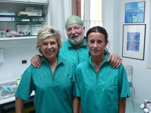 staff odontoiatri e tecnici