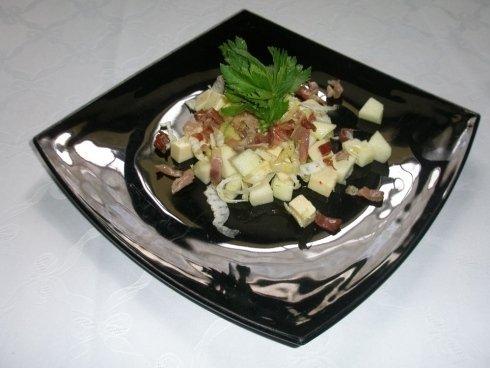 secondo  piatto quadrato
