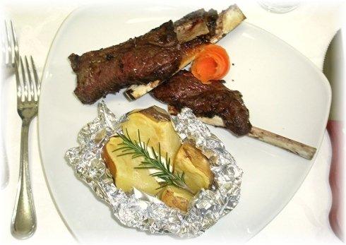secondo patata carne