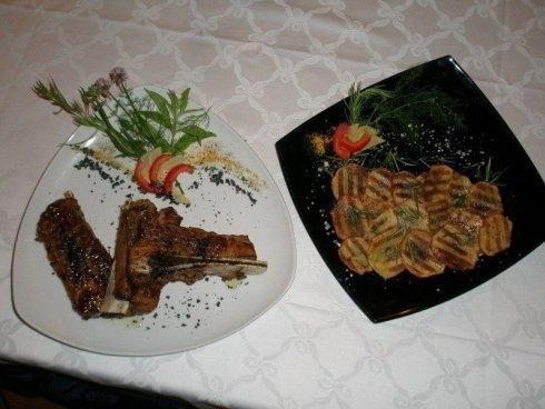 piatti bianco nero secondi