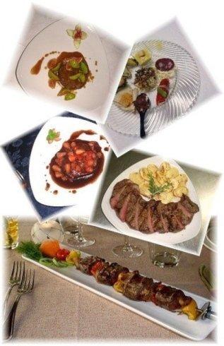 collage foto piatti