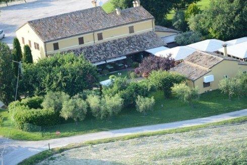 villa giardino esterno