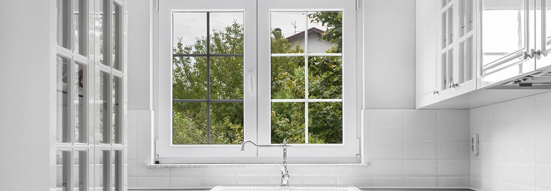 Vista della finestra di una casa a Montemurlo