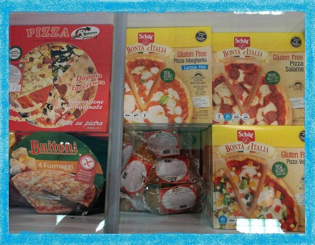 pizze surgelate per celiaci