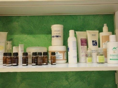 Nel centro di bellezza vengono sfruttati esclusivamente prodotti sicuri e certificati.
