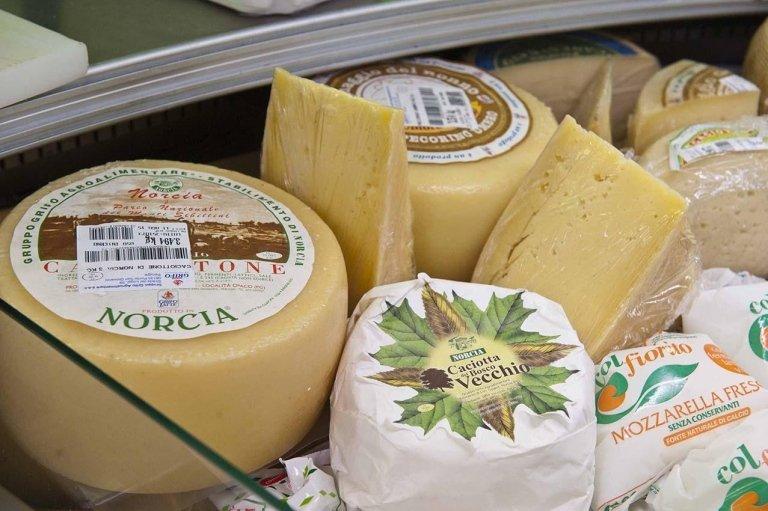 formaggi umbri