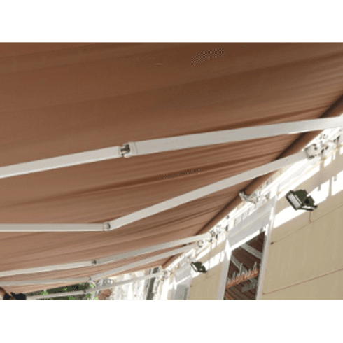 Tenda con struttura in ferro