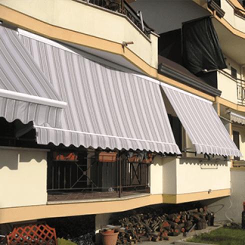Tende a veranda grigie