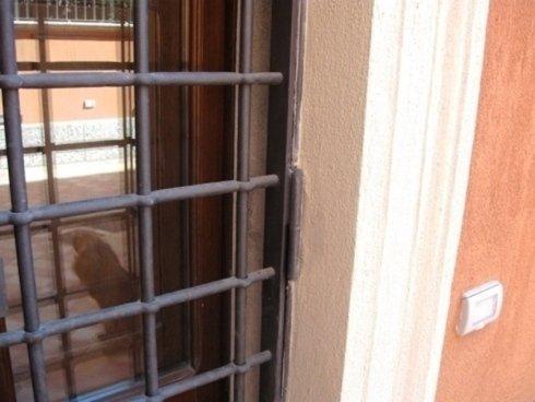 Dettaglio di grate per finestra