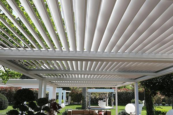 Dettaglio di veranda
