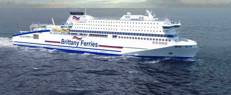 Brittany LNG Ferry