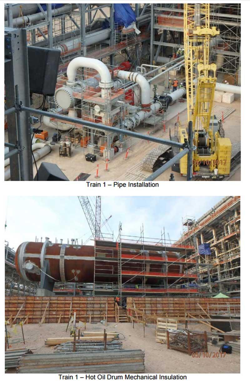 Corpus Christi LNG Progress