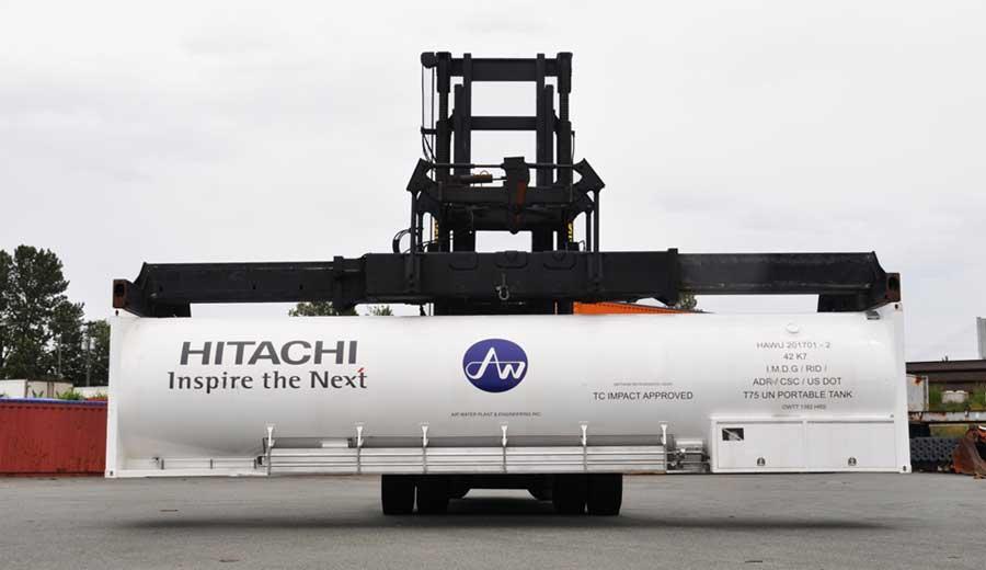 ISO LNG Tanks