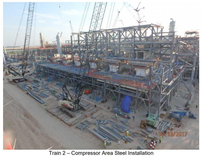 Corpus Christi Liquefaction LNG Status Report