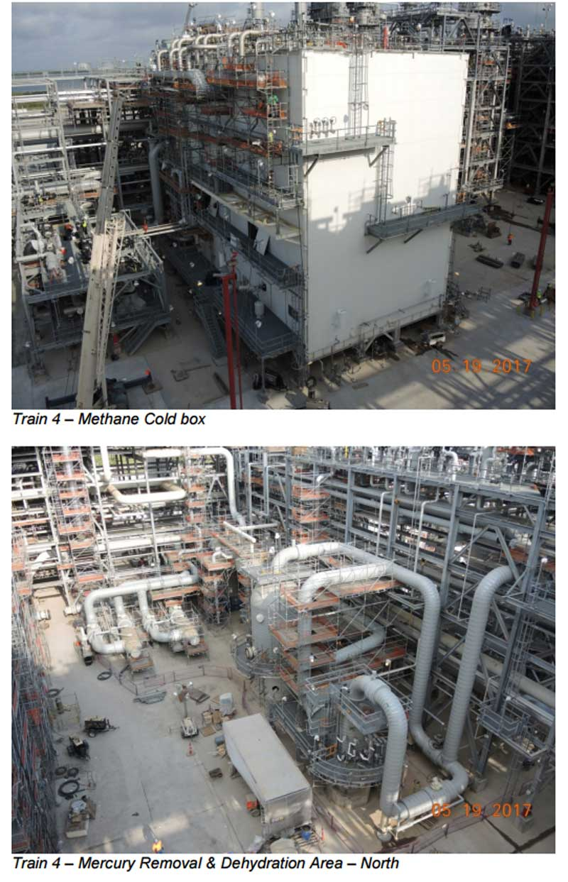 Sabine LNG Status Report May 2017