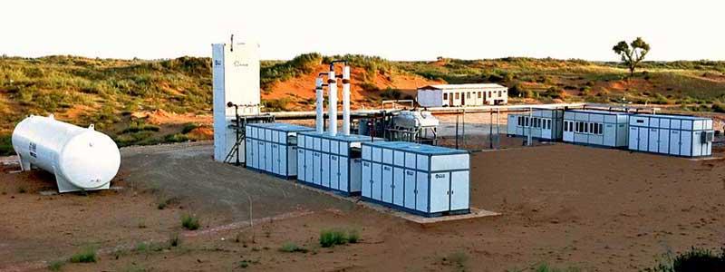 Mini LNG Plant