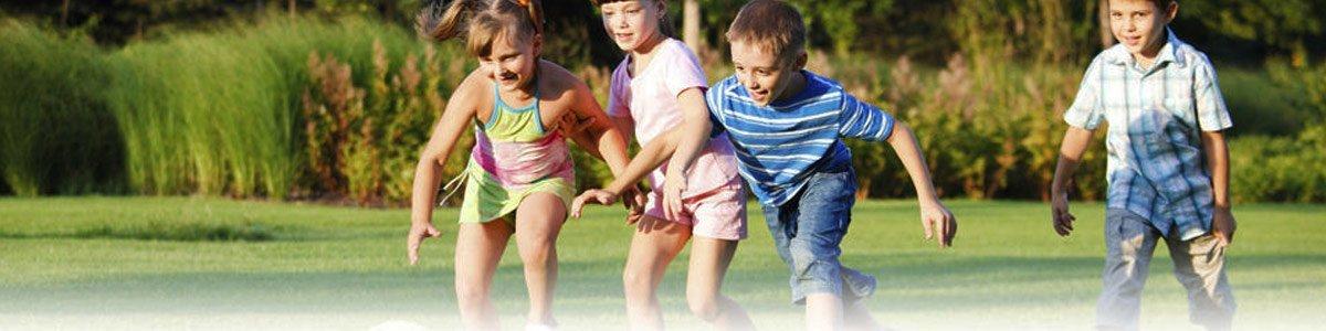 westland turf children playing on turf