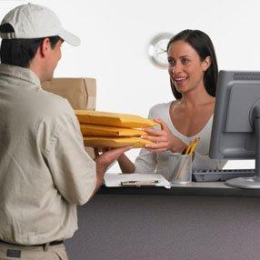 receiving parcels
