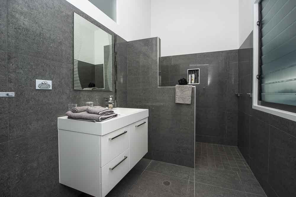 Interior view of the bathroom