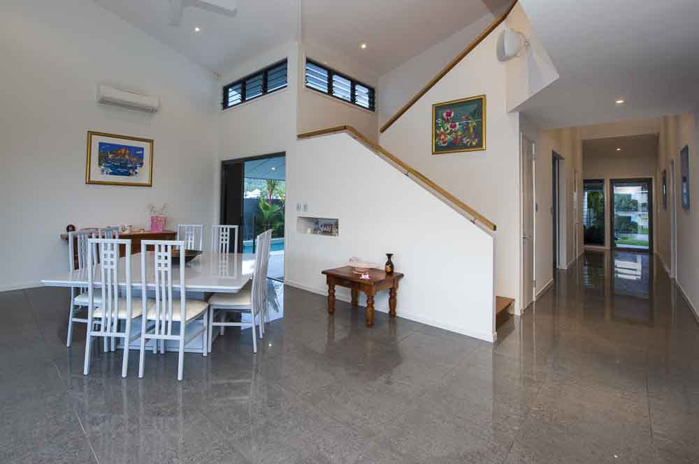 Interior view of the newly build house