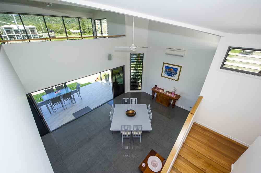 Top view of the room