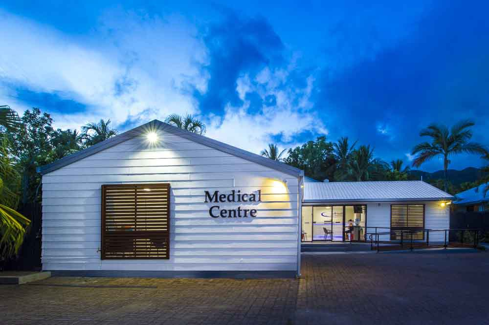 Exterior view of the medical centre