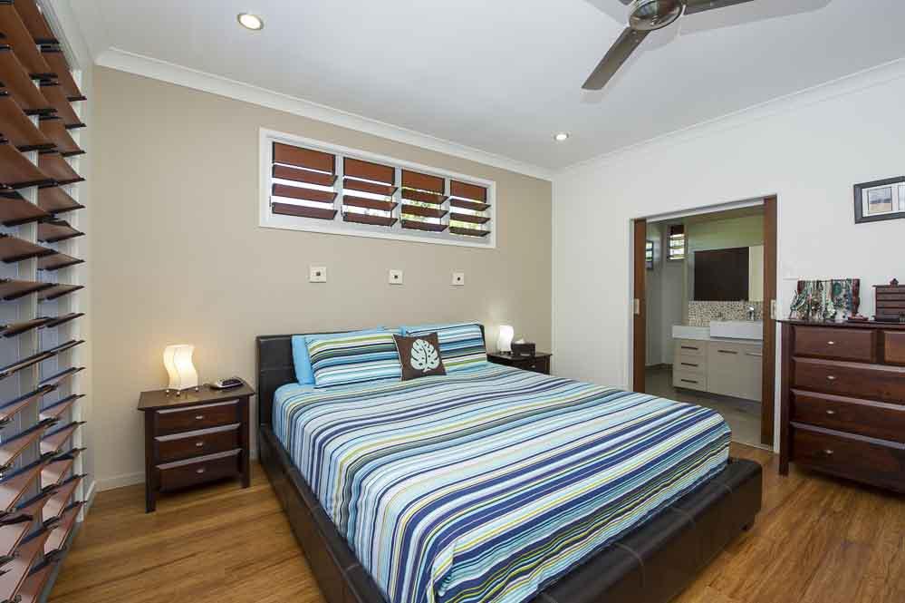 Bedroom interior view