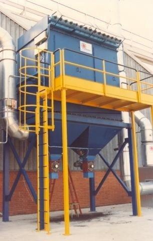 impianto certificato di raccolta e aspirazione polveri