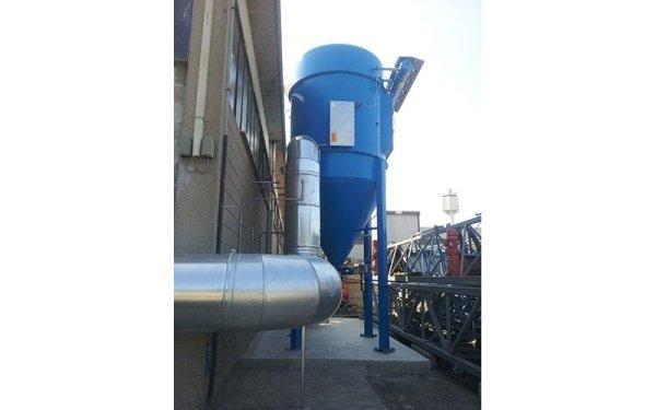 Impianto ATEX per polvere di alluminio