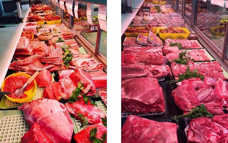 Vendita carne di vitello